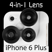 iPhone 6 Plus 4-in-1 Lens Case