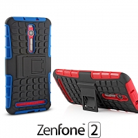 Asus Zenfone 2 ZE551ML Rugged Case with Stand