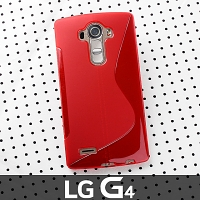 LG G4 Wave Plastic Back Case