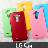 LG G4 Rubberized Back Hard Case