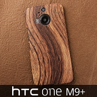 HTC One M9+ Woody Patterned Back Case