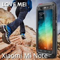LOVE MEI Xiaomi Mi Note Powerful Bumper Case