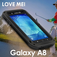 LOVE MEI Samsung Galaxy A8 Powerful Bumper Case