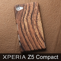 Sony Xperia Z5 Compact Woody Patterned Back Case