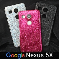 Google Nexus 5X Glitter Plastic Hard Case