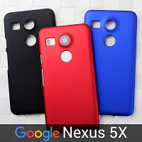 Google Nexus 5X Rubberized Back Hard Case