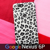 Google Nexus 6P Leopard Stripe Back Case
