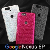 Google Nexus 6P Glitter Plastic Hard Case
