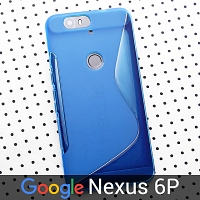 Google Nexus 6P Wave Plastic Back Case