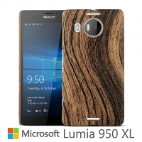 Microsoft Lumia 950 XL Woody Patterned Back Case