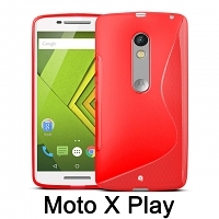 Motorola Moto X Play Wave Plastic Back Case