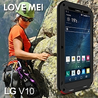 LOVE MEI LG V10 Powerful Bumper Case