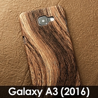 Samsung Galaxy A3 (2016) A3100 Woody Patterned Back Case