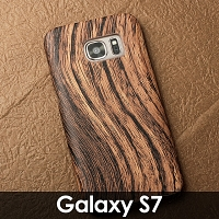 Samsung Galaxy S7 Woody Patterned Back Case