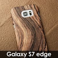Samsung Galaxy S7 edge Woody Patterned Back Case