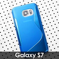 Samsung Galaxy S7 Wave Plastic Back Case