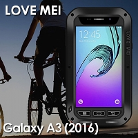 LOVE MEI Samsung Galaxy A3 (2016) A3100 Powerful Bumper Case