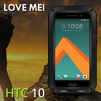 LOVE MEI HTC 10 Powerful Bumper Case