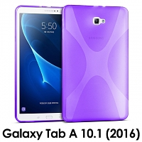 Samsung Galaxy Tab A 10.1 (2016) X-Shaped Plastic Back Case