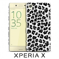 Sony Xperia X Leopard Stripe Back Case