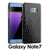 Samsung Galaxy Note7 Crocodile Leather Back Case