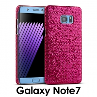 Samsung Galaxy Note7 Glitter Plastic Hard Case