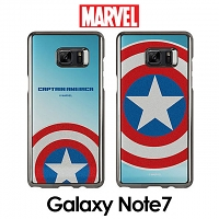 MARVEL Captain America Mirror Art Back Case for Samsung Galaxy Note7