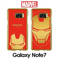 MARVEL Iron Man Mirror Art Back Case for Samsung Galaxy Note7