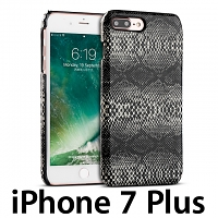 iPhone 7 Plus Faux Snake Skin Back Case