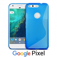 Google Pixel Wave Plastic Back Case