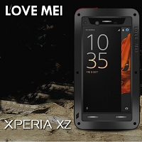 LOVE MEI Sony Xperia XZ Powerful Bumper Case