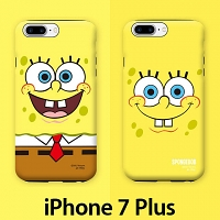 iPhone 7 Plus Spongebob Guard Up Case