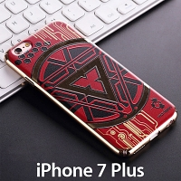 iPhone 7 Plus ARC Reactor Electroplating Color Carving Case