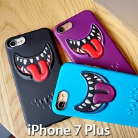 iPhone 7 Plus SwitchEasy Monsters 3D TPU Case