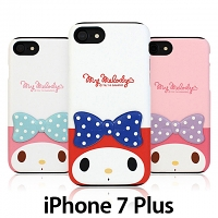iPhone 7 Plus My Melody Deco Double Bumper Case