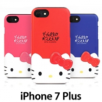 iPhone 7 Plus Hello Kitty Deco Double Bumper Case