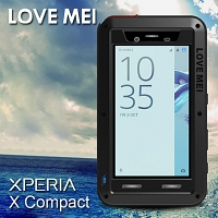 LOVE MEI Sony Xperia X Compact Powerful Bumper Case