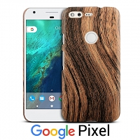 Google Pixel Woody Patterned Back Case