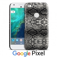 Google Pixel Faux Snake Skin Back Case