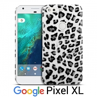 Google Pixel XL Leopard Stripe Back Case