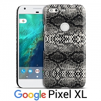 Google Pixel XL Faux Snake Skin Back Case