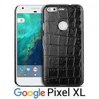 Google Pixel XL Crocodile Leather Back Case