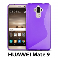 Huawei Mate 9 Wave Plastic Back Case