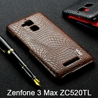 Imak Crocodile Leather Back Case for Asus Zenfone 3 Max ZC520TL