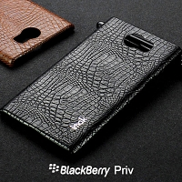 Imak Crocodile Leather Back Case for BlackBerry Priv
