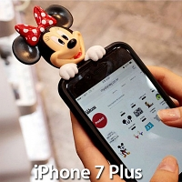 iPhone 7 Plus 3D Minnie Jelly Case