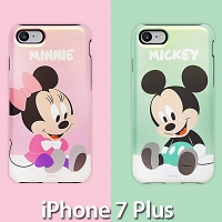 iPhone 7 Plus Baby Mickey and Friends Point Armour Case