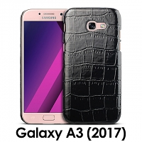 Samsung Galaxy A3 (2017) A3200 Crocodile Leather Back Case