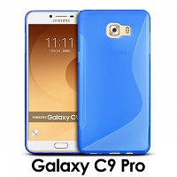 Samsung Galaxy C9 Pro Wave Plastic Back Case