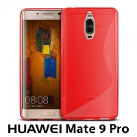 Huawei Mate 9 Pro Wave Plastic Back Case